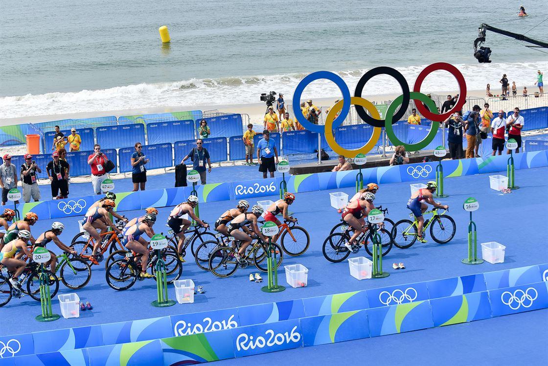 что такое триатлон олимпийка