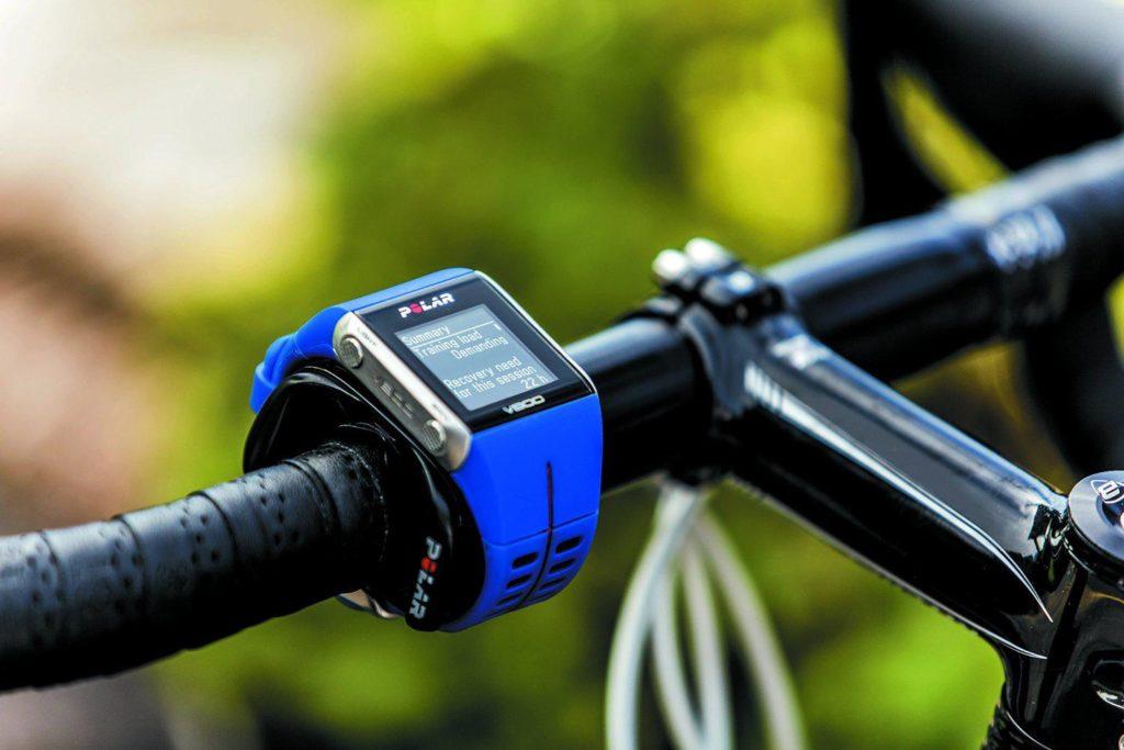 polar v800 на велосипеде