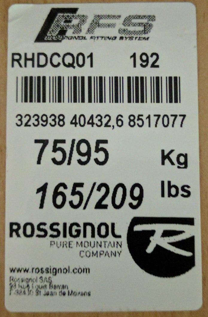 2b44050c2c5601 Все о лыжах Rossignol: эпюры, характеристики, подбор