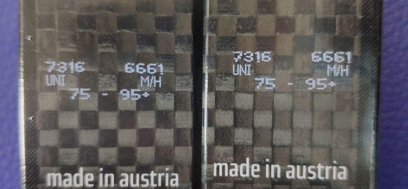 серийный номер лыж Atomic расшифровка
