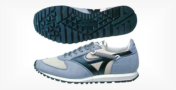 первые кроссовки Mizuno