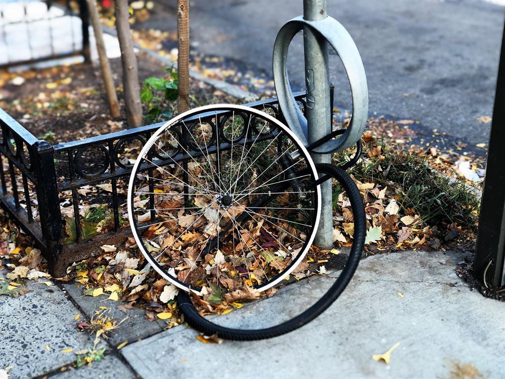 защитить велосипед от кражи
