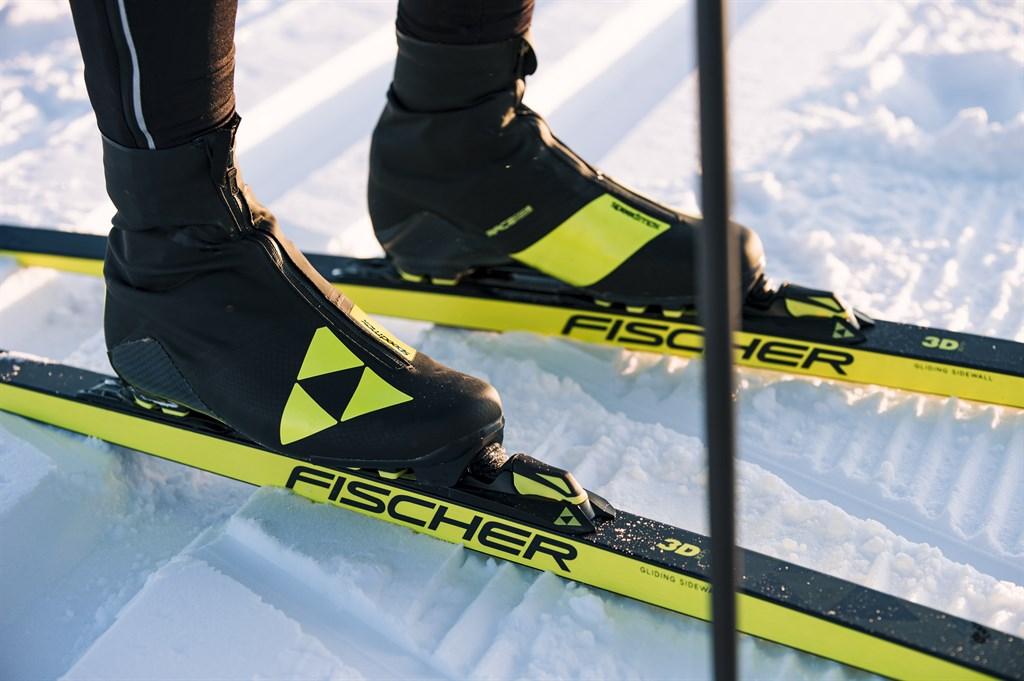 структуры базы и эпюры лыж fischer